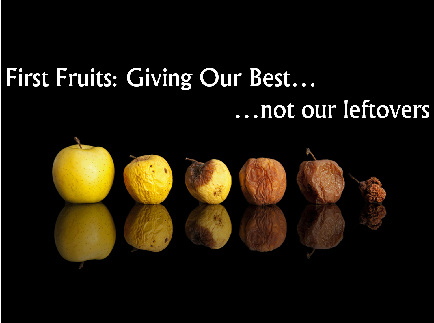 The Necessity of The First Fruit Offering