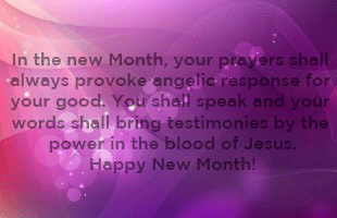 Happy New Month! (April 2016)